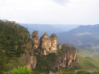 Blue Mountains (Three Sisters rock)