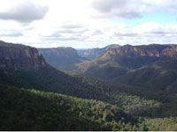 Grand Blue Mountains Canyon
