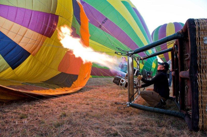 Hot Air Balloon Flight in Sydner