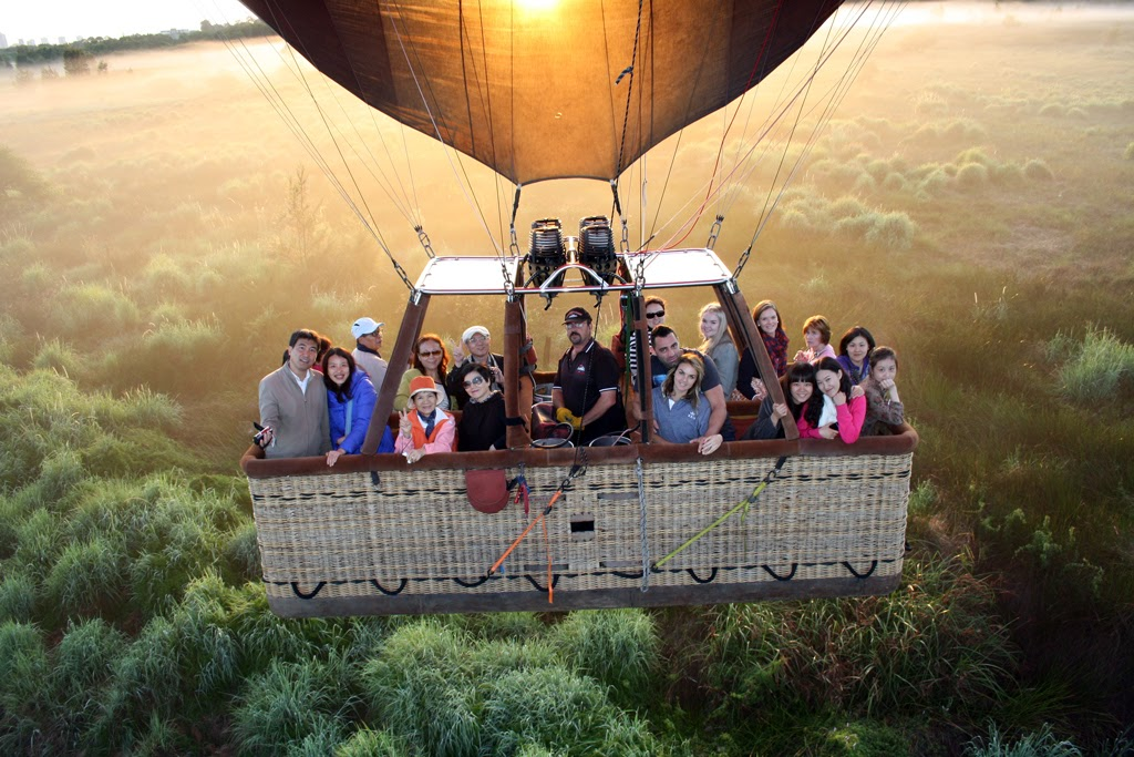Hot Air Balloon Flight in Sydne