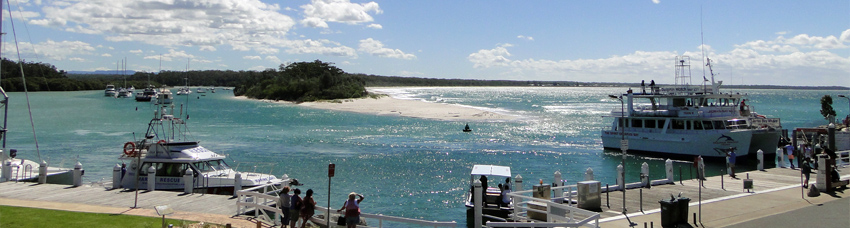 panorama of Jervis Bay